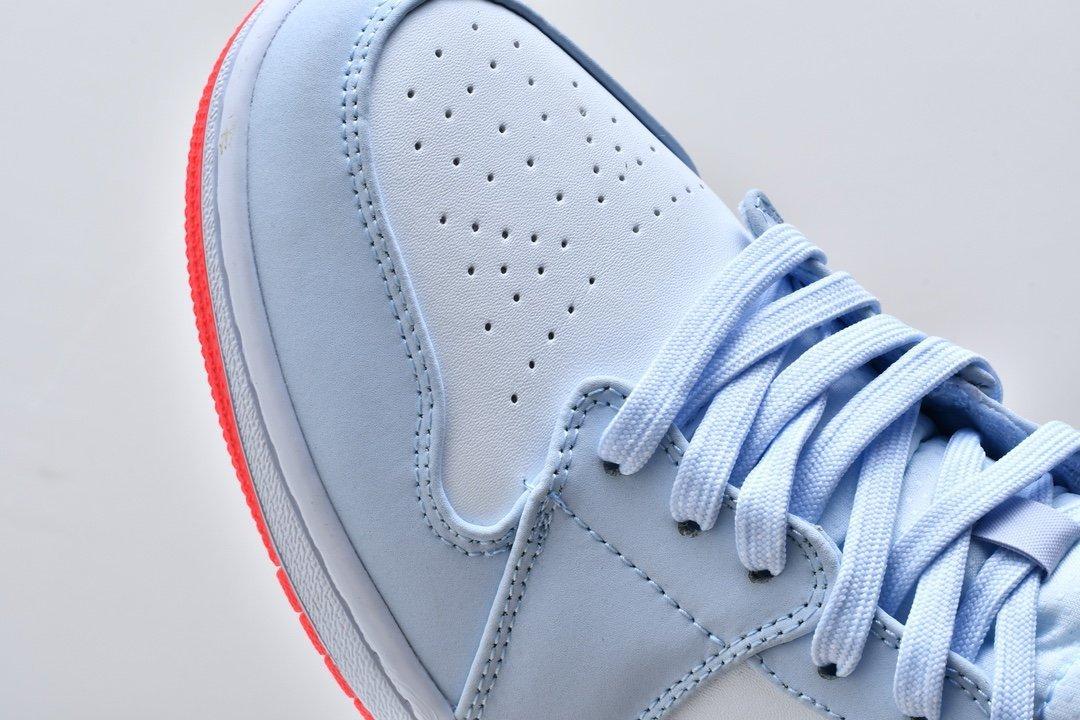 Air Jordan 1 Mid GS Half Blue 9