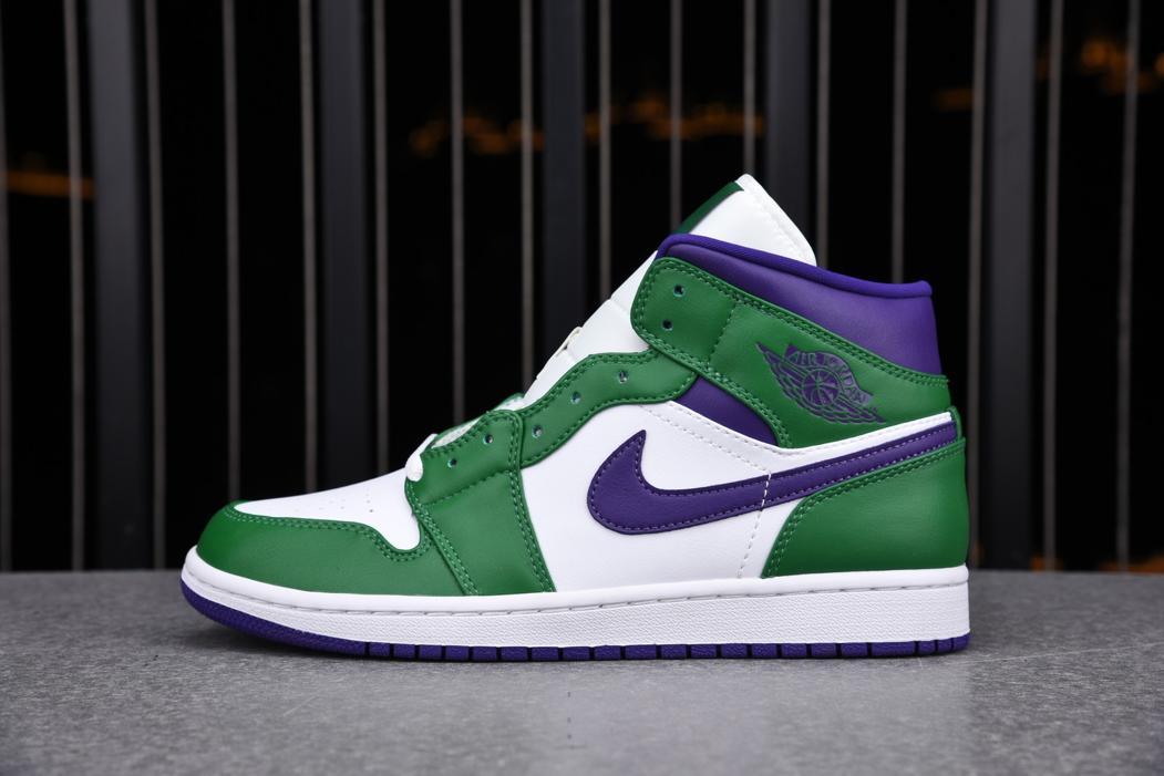 Air Jordan 1 Mid GS Hulk 1