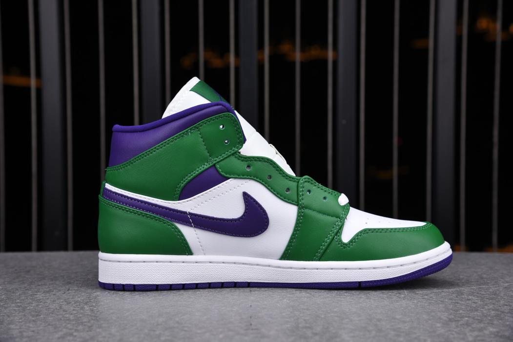 Air Jordan 1 Mid GS Hulk 2