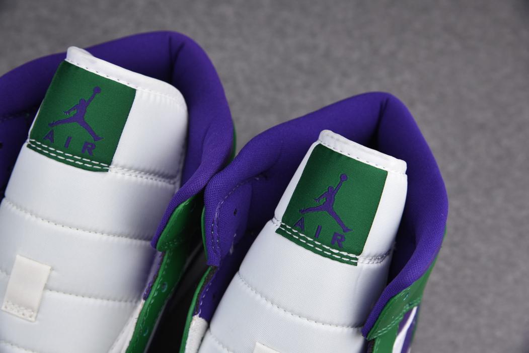 Air Jordan 1 Mid GS Hulk 8