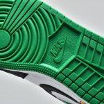 Air Jordan 1 Mid GS Lucky Green Laser Orange 13