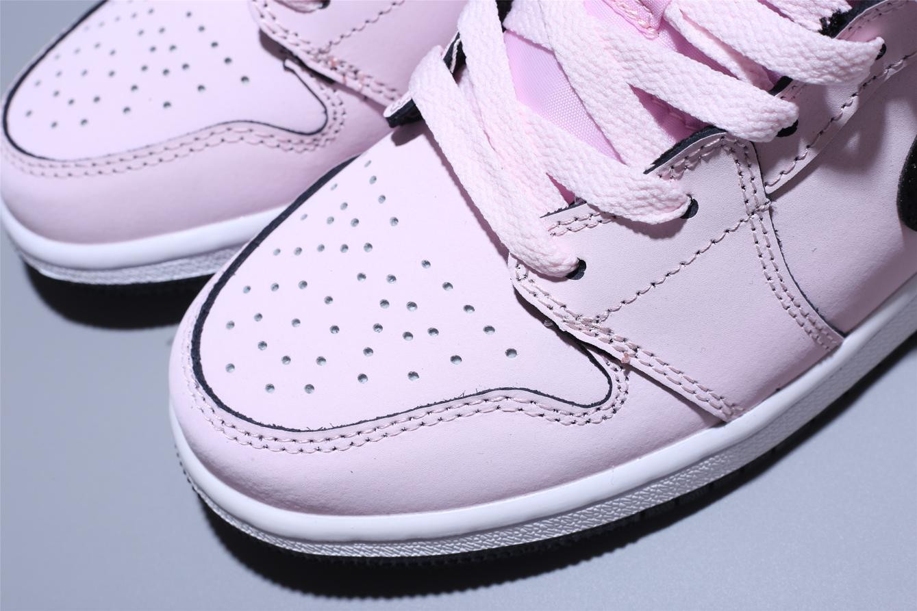 Air Jordan 1 Mid GS Pink Foam 8