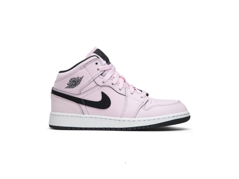 Air Jordan 1 Mid GS Pink Foam