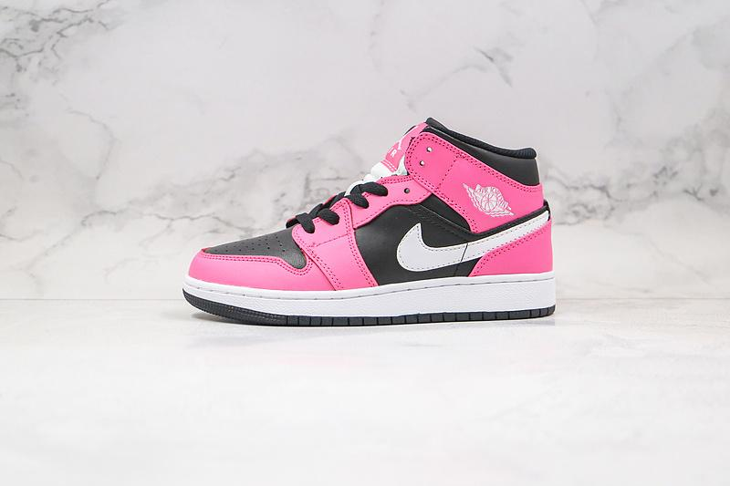 Air Jordan 1 Mid GS Pinksicle 1