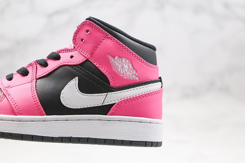 Air Jordan 1 Mid GS Pinksicle 4