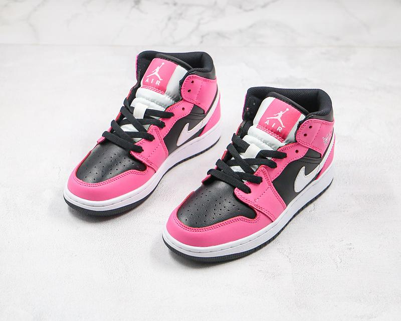 Air Jordan 1 Mid GS Pinksicle 7