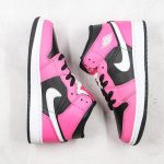Air Jordan 1 Mid GS Pinksicle 9