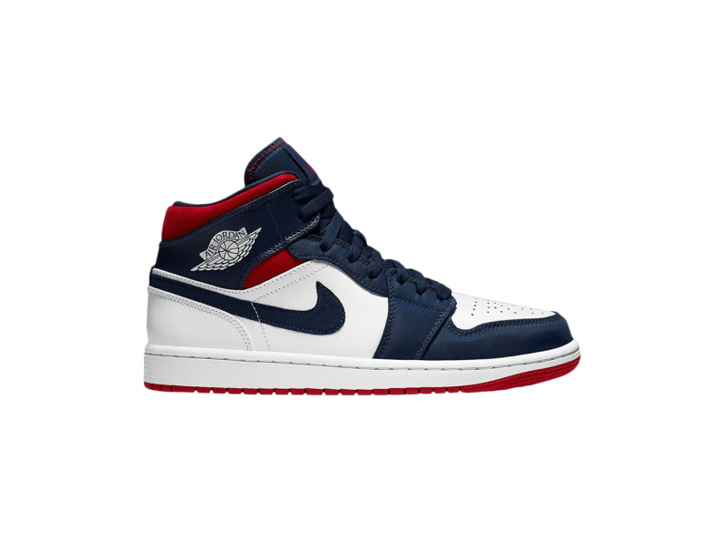 Air Jordan 1 Mid GS USA Olympic