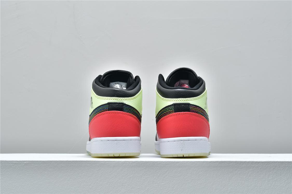 Air Jordan 1 Mid Glow In The Dark 5