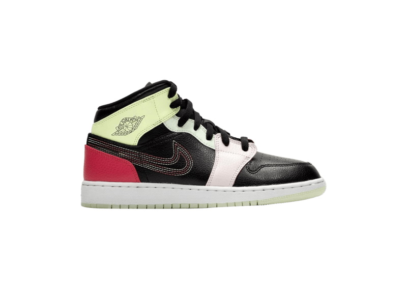 Air Jordan 1 Mid Glow In The Dark