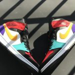 Air Jordan 1 Mid Multi Color 2