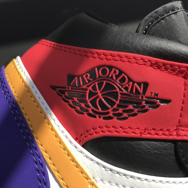 Air Jordan 1 Mid Multi Color 3