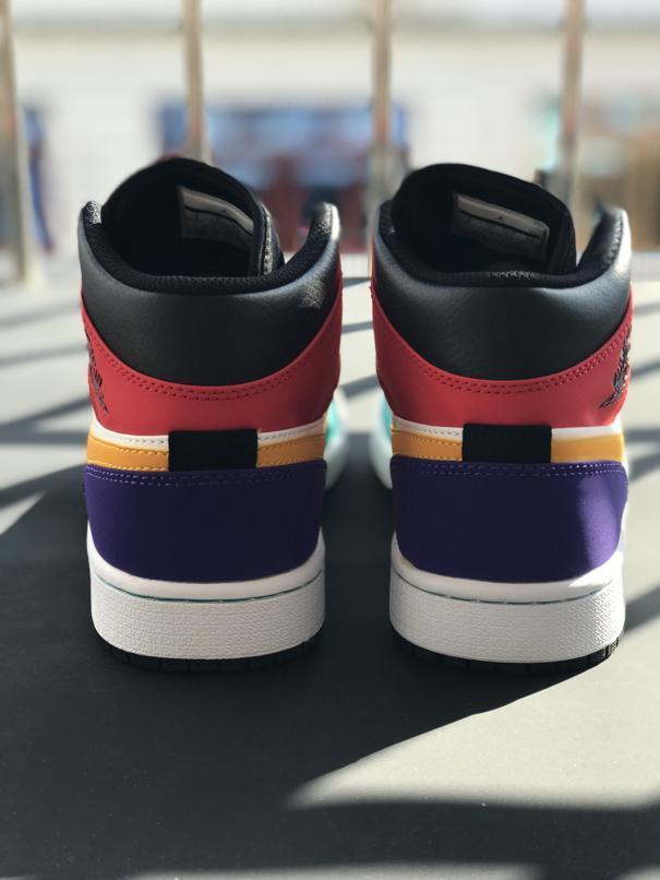 Air Jordan 1 Mid Multi Color 6