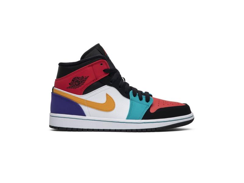 Air Jordan 1 Mid Multi Color