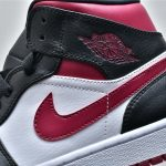 Air Jordan 1 Mid Noble Red 10