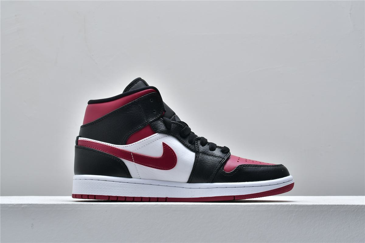 Air Jordan 1 Mid Noble Red 2