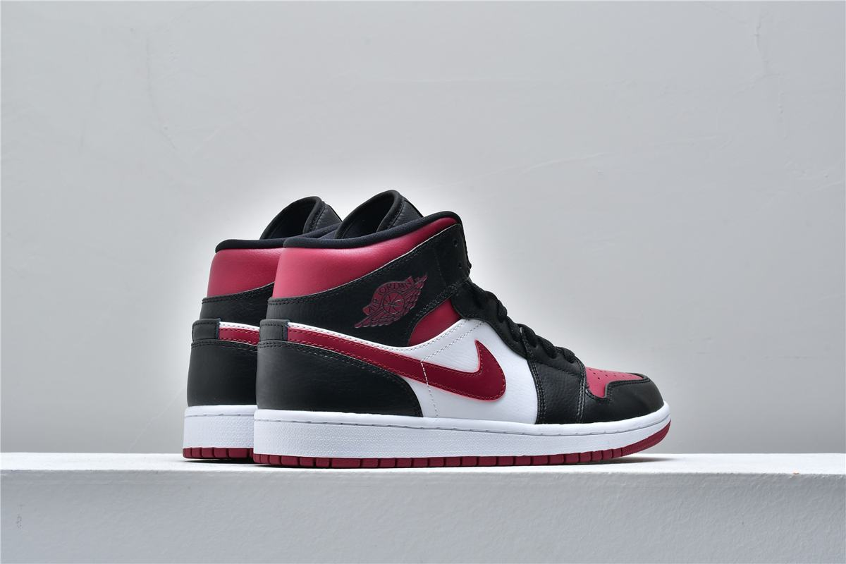 Air Jordan 1 Mid Noble Red 6