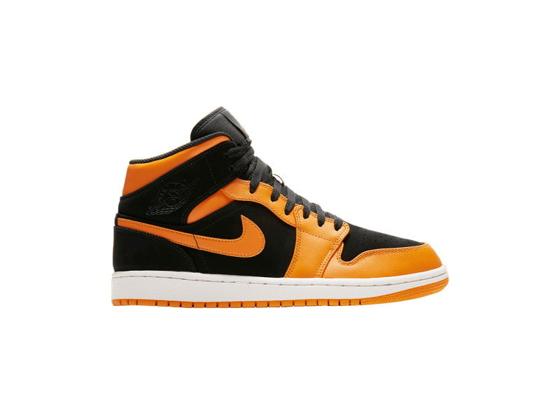 Air Jordan 1 Mid Orange Peel