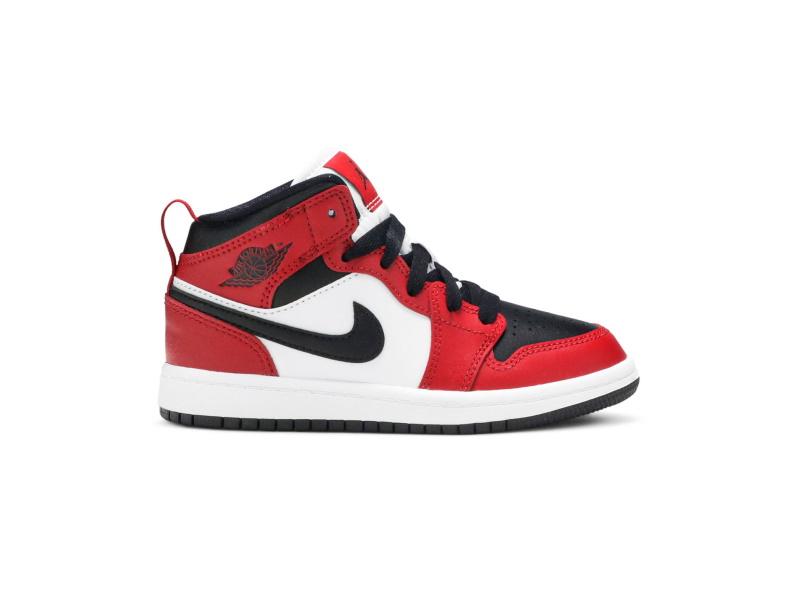 Air Jordan 1 Mid PS Chicago Black Toe