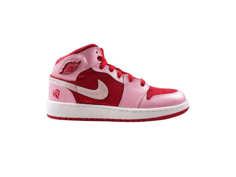 Air Jordan 1 Mid Premium GS Valentines Day