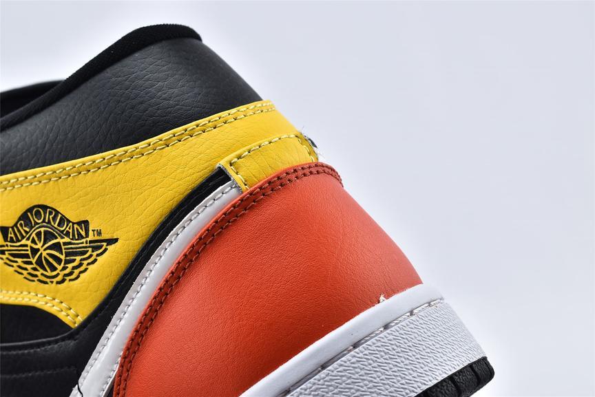 Air Jordan 1 Mid SE Amarillo 14