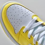 Air Jordan 1 Mid SE GS Rose Patch Dynamic Yellow 8
