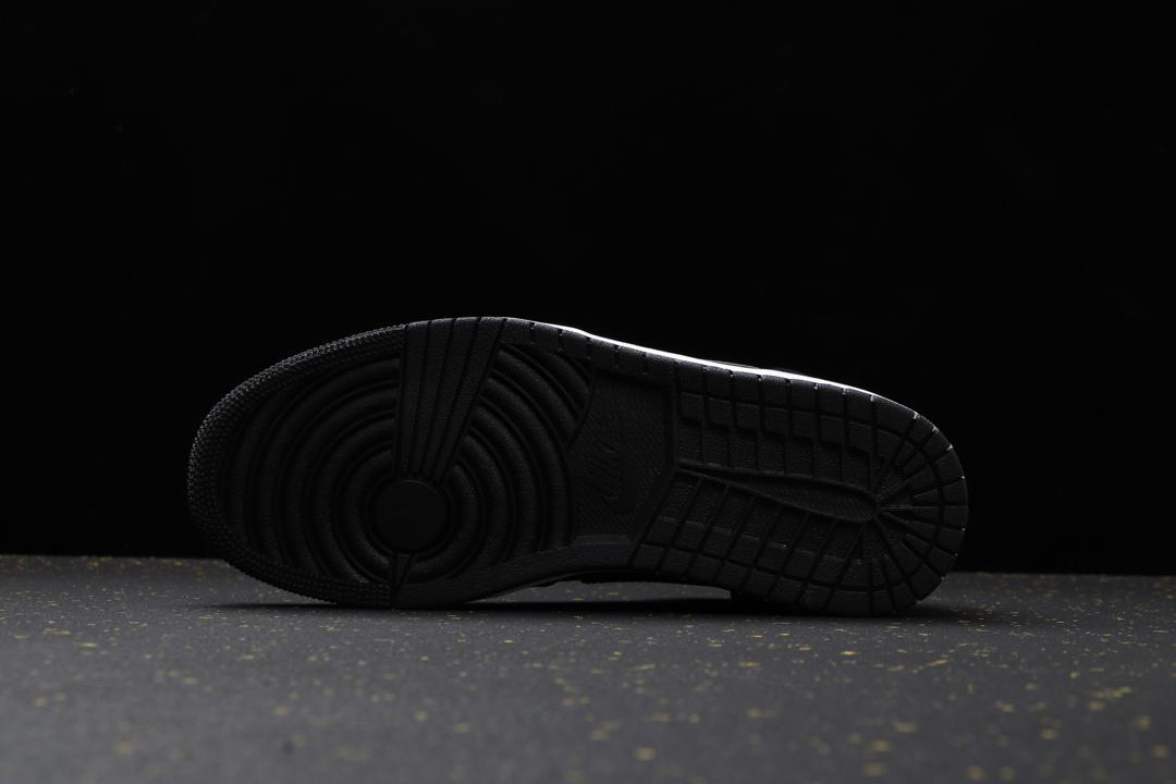 Air Jordan 1 Mid SE Nylon Black Grey 2
