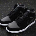 Air Jordan 1 Mid SE Nylon Black Grey 6