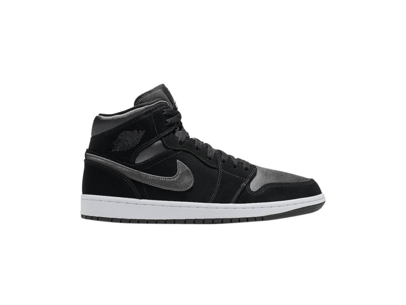 Air Jordan 1 Mid SE Nylon Black Grey