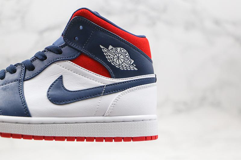Air Jordan 1 Mid SE Olympic 4