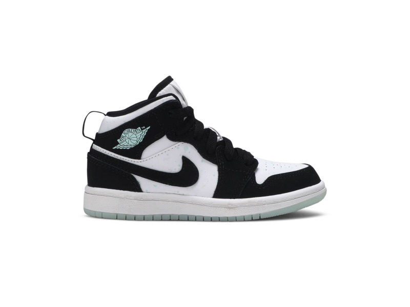 Air Jordan 1 Mid SE PS Glow in the Dark Panda