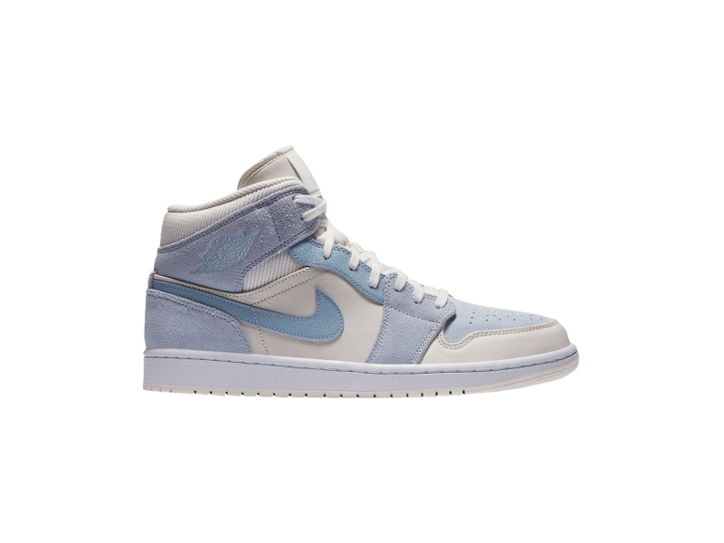 Air Jordan 1 Mid SE Sail Light Blue