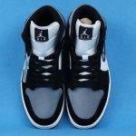 Air Jordan 1 Mid SE Satin Smoke Grey 5