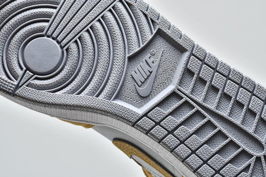 Air Jordan 1 Mid SE Tan Grey 14