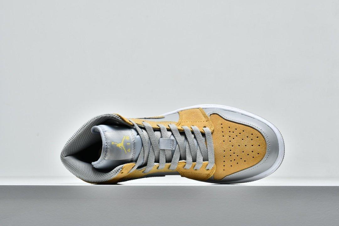 Air Jordan 1 Mid SE Tan Grey 3