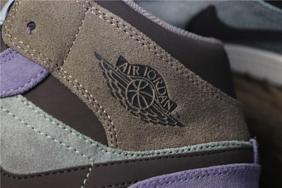 Air Jordan 1 Mid Suede Patch 8