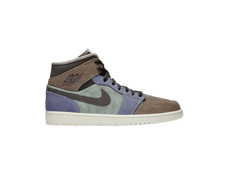 Air Jordan 1 Mid Suede Patch