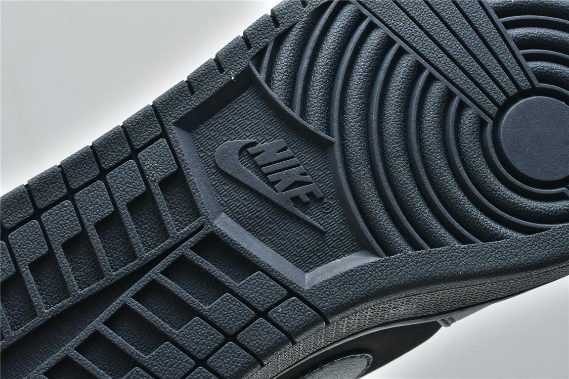 Air Jordan 1 Mid Triple Black 2018 12
