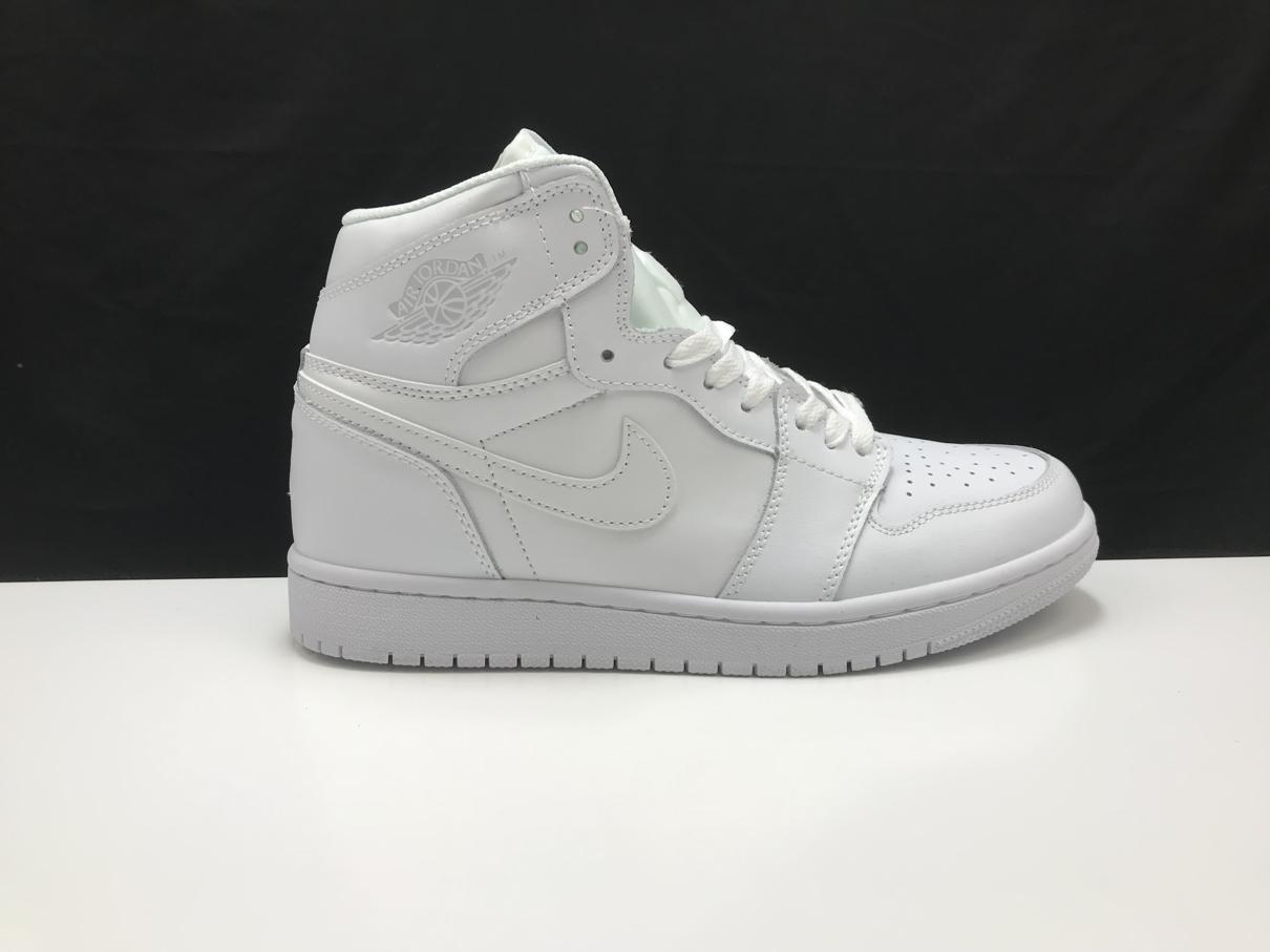 Air Jordan 1 Mid Triple White 2.0 2020 1