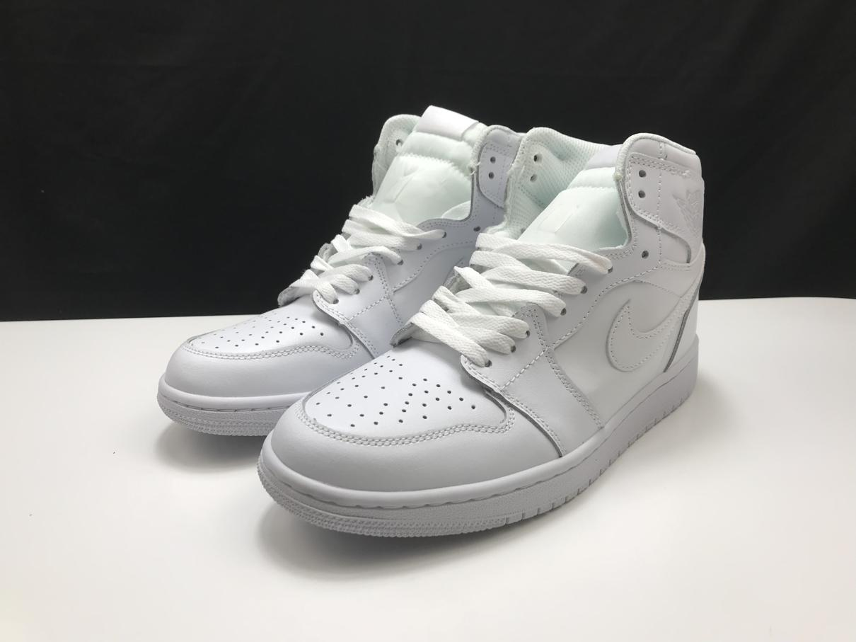 Air Jordan 1 Mid Triple White 2.0 2020 2