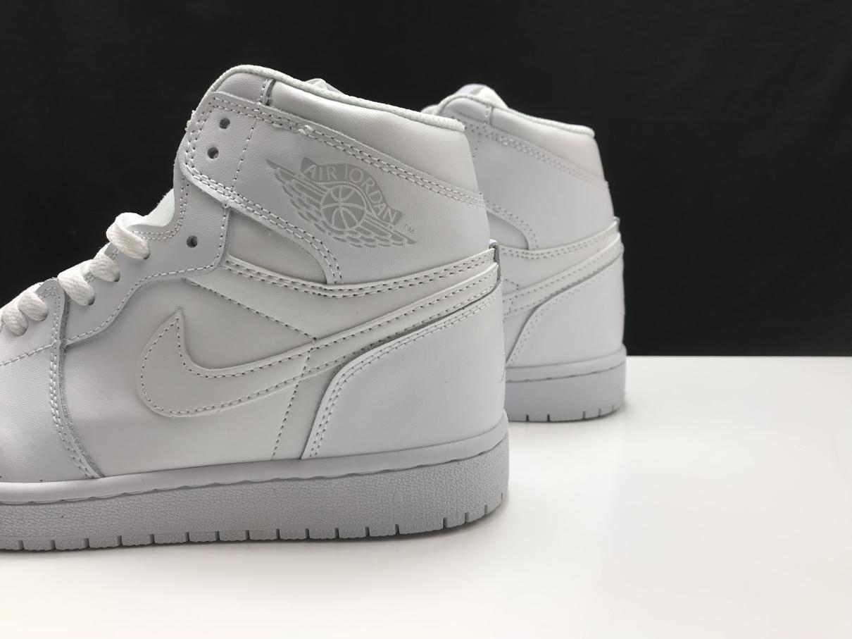 Air Jordan 1 Mid Triple White 2.0 2020 3