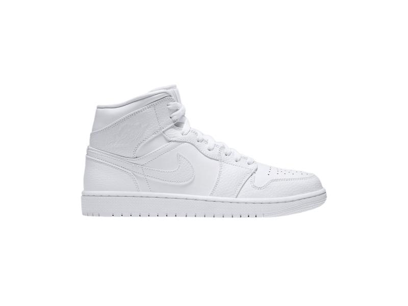 Air Jordan 1 Mid Triple White 2.0 2020