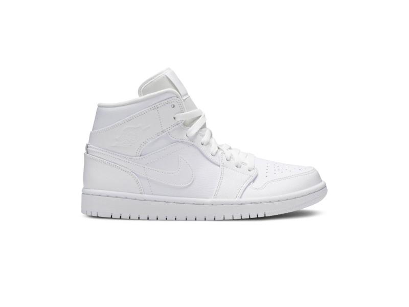 Air Jordan 1 Mid White 2020
