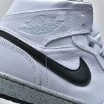 Air Jordan 1 Mid White Cement 7