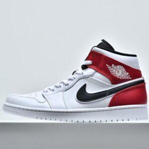 Air Jordan 1 Mid White Chicago 1