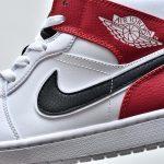 Air Jordan 1 Mid White Chicago 10