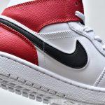 Air Jordan 1 Mid White Chicago 11