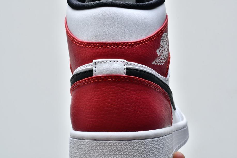 Air Jordan 1 Mid White Chicago 14