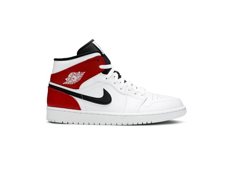Air Jordan 1 Mid White Chicago