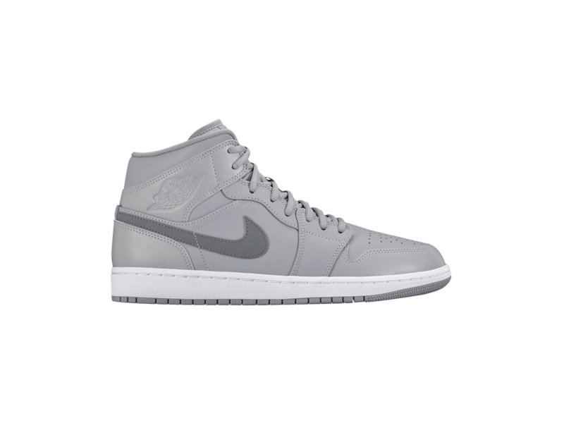 Air Jordan 1 Mid Wolf Grey